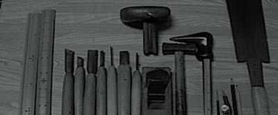 香合佛を作る道具