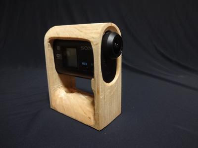 SONY アクションカム HDR-AS30V を 車載カメラ(ドライブレコーダー)として木で改造 中編