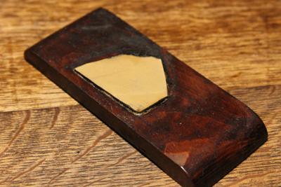 小さくなった木っ端の砥石