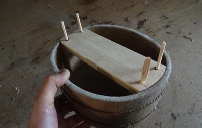 砥石桶の砥石台を作る 前編