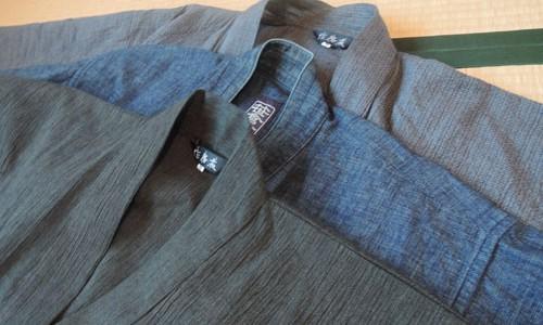 愛しい作務衣1 ー作務衣の質感とブランドー
