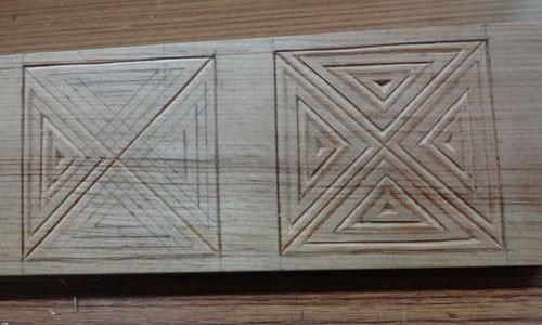 手板の彫刻 1