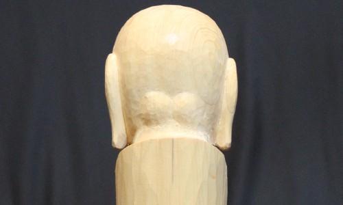 お地蔵さんの後頭部の彫刻