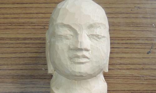 仏像の表情(目、鼻、口) 2