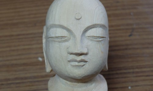 仏像の表情(目、鼻、口)3