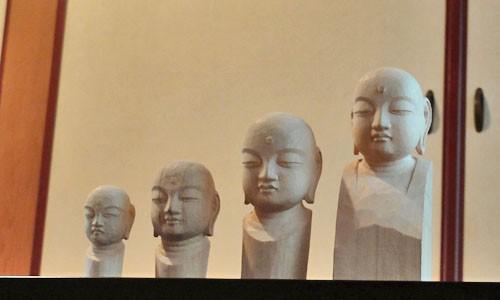 初めての顔出し動画撮影 (お地蔵さんの仏頭を彫る)
