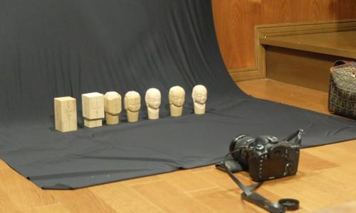 ー撮影雑感ー お地蔵さんの仏頭の制作行程を二本YouTubeにアップしました。