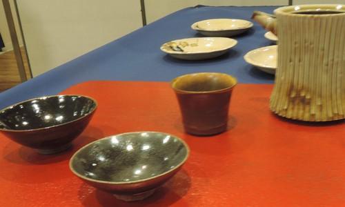 「京焼 臥龍窯 澤村陶哉工房一門展」を見に行きました。