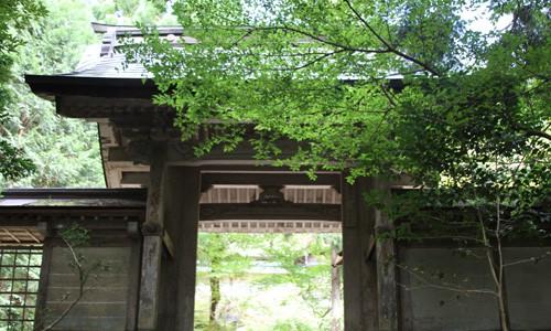 9月の常照皇寺 美しい庭と書院造り 2