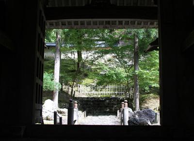 京北の常照皇寺〜ローズカフェ〜亀岡へ コペンで散策