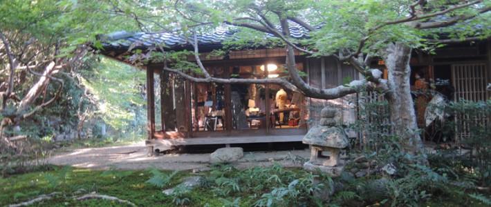 京都嵯峨 厭離庵で開催された地歌の会に行ってきました。