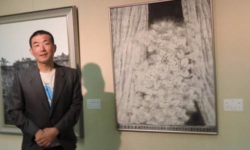京都博物館で京都墨彩画壇展とレオナルド・ダビンチと「アンギアーリの戦い」展を観に行きました。