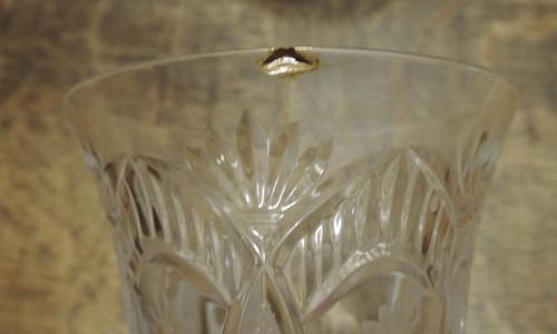 ガラスの金継の修繕方法