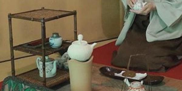 花菱の彫刻とお茶会のご案内
