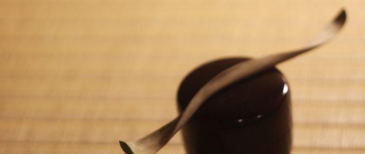 茶杓削り 「わすれ衣」